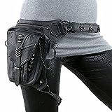 FiveloveTwo Sport Militär Tactical Hip Bag Hüfttasche Beintasche Reisen Klettern Radfahren und Joggen Gürtelbefestigung einstellbare Länge Schenkel Bag Wanderrucksäcke Tasche