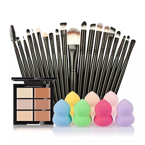 vovotrade-6-colores-ocultador-20pcs-cepillo-del-maquillaje-1pc-gotitas-de-agua-soplocolor-a