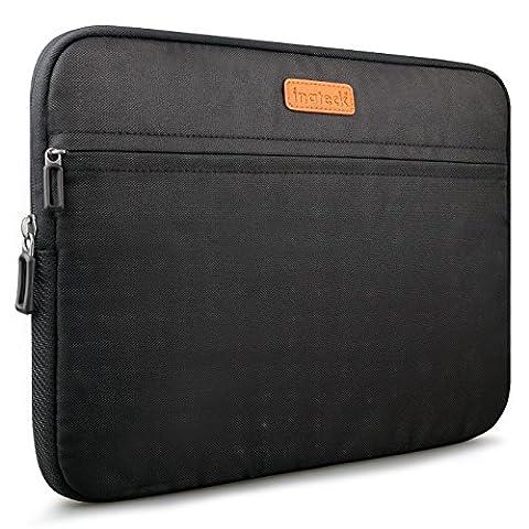 Inateck Schutzhülle für Laptops 15-15,4 Zoll Macbook Pro Retina Sleeve Hülle Laptop Tasche für Laptops 38,1cm, Schwarz