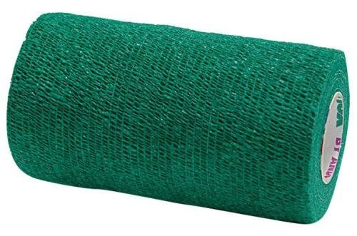 Andover Co-Flex Vet Flexible Wrap Bandages Lightweight and Breathable Green 4in