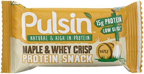Pulsin' 50-g Protein-Sport - Packung enthält 18 Riegel, 1er Pack (18 x 50 g) (Mischung 15 G-packung)