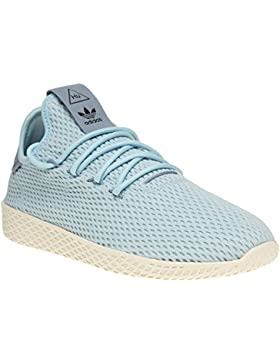 Adidas Pharrell Williams Tennis Hu Niña Zapatillas Azul