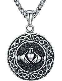 7789ea9af1d1 Aoiy - Collar con colgante de hombre de acero inoxidable