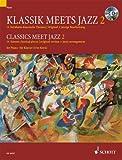 Klassik meets Jazz Band 2 für Klavier inkl. CD : 14 berühmte klassische Themen in Original und jazziger Bearbeitung [Musiknoten] Uwe Korn Ed.