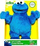 Playskool Sesame Street Let Cuddle Cookie Monster Plush Toy By Hasbro 25 Cm/10 Inch