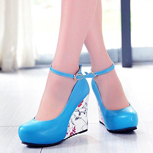 Azbro, Scarpe col tacco donna Blu
