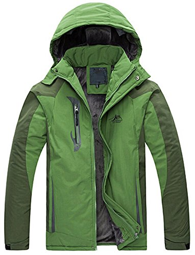 Jeansian Hommes Manteau Classic Fashion Hoodie Manches Longues Casual Jacket 9407 GrassGreen