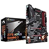 Z370 AORUS Gaming 3 Intel Gaming motherboard with RGB Fusion, Dual M.2, 120dB SNR ALC1220, Killer Gaming LAN, Front USB 3.1 Gen 1 Type-C & Rear USB 3.1 Gen 2 Type-C, Smart Fan 5, Anti-Sulfur Resistors