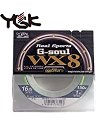 Tresse Ygk WX8 R SP G SOUL GREEN PE 1.5 25LB - YGK