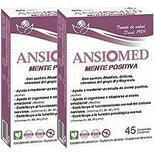 Bioserum - Pack Ahorro 2 x Ansiomed Mente positiva 2 x 45 Cápsulas (Total 90