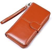 Lorna Women's/Girl's Wallet Clutch Card Holder Purse With Zipper