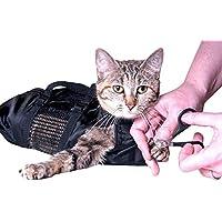 Arvin87Lyly Haustier Pflege Tasche Badetasche Tragbar Haustier Schönheit Tasche Atmungsaktiv Zurückhaltung Tasche Geeignet für Reinigung, Therapie, Inspektion und Medika mentenmanagement