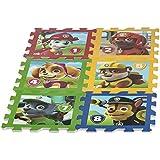 ColorBaby - Alfombra puzzle goma eva paw patrol, 8 piezas, 62 x 124 cm (48058)