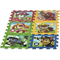 ColorBaby - Alfombra puzzle goma Eva de Paw Patrol, 8 piezas, 62 x 124 cm (48058)