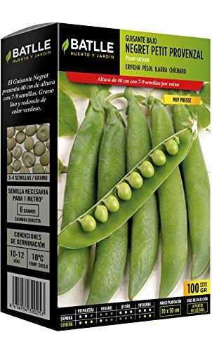 Batlle Gemüsesamen - Früh-Zwergerbse Negret Provenza (100g)