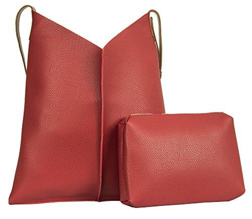 Grande Negozio Di Borsette, Borsa Da Donna A Tracolla Stile 1 - Rosso