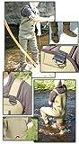 Fishingmad - Waders avec chaussettes - néoprène 4 mm - taille L