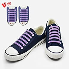 KetKraft Kids/Adults No Tie Shoelaces, Tieless Elastic, Silicone Waterproof Rubber Flat Running Shoe Laces For Sneakers Board, Casual Shoes And Boots - One Size Fits All - Perfect for Sports, Sneakers and Formal Shoes Gray Colour
