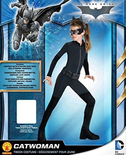 Imagen de rubie's  disfraz de catwoman para niña, producto oficial de dc comics, 10–11años alternativa