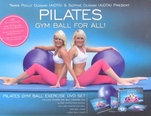 Pilates Gym Ball Exercise DVD Set