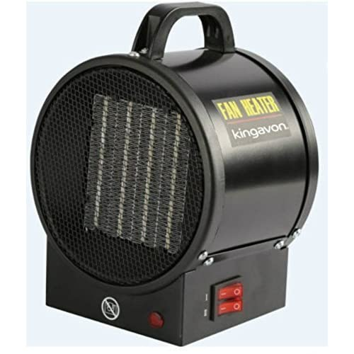 510yiiarl8L. SS500  - Garden mile® Various 2Kw Oval Industrial Space Fan Heater Workshop Garage Office Fan Heaters Adjustable Power And Thermostat Control (2Kw Oval Industrial Fan Heater)