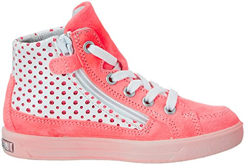 Ricosta - Emily, Scarpe da ginnastica Bambina Pink (neoncoral/weiss)