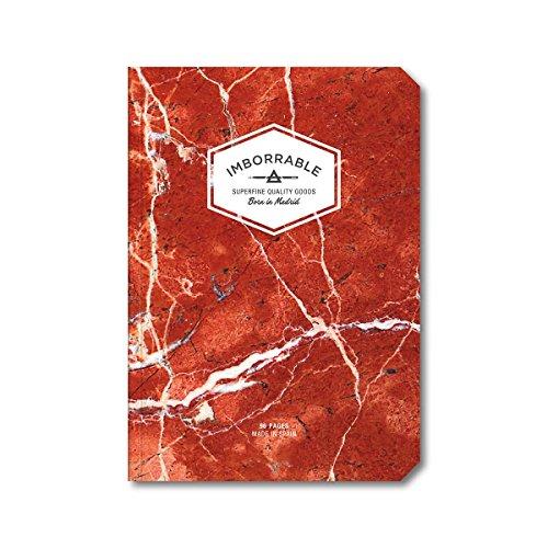 imborrable-mrmol-cuaderno-de-notas-con-malla-de-puntos-96-pginas-a5-148-x-21-cm-color-rojo