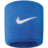 Nike Swoosh Wristbands 9380/4, Blau/Weiss