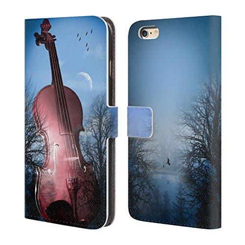Offizielle Mark Ashkenazi Violin Musik Brieftasche Handyhülle aus Leder für Apple iPhone 6 Plus / 6s Plus