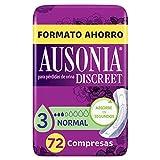 Ausonia Discreet Compresas Normal Para Incontinencia 72u
