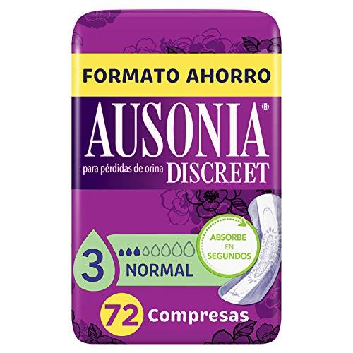 Ausonia Discreet Compresas Normal Para Pérdidas