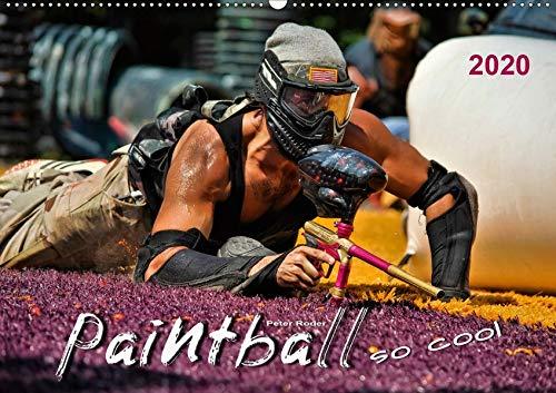 Paintball - so cool (Wandkalender 2020 DIN A2 quer): Paintball - Action, Spaß und Spannung. (Monatskalender, 14 Seiten ) (CALVENDO Sport)