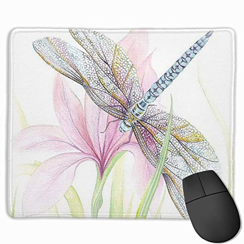 Sheer Wings Non-Slip Rubber Mouse Mat Mouse Pad for Desktops, Computer, PC and Laptops 9.8 X 11.8 inch (25x30cm) -