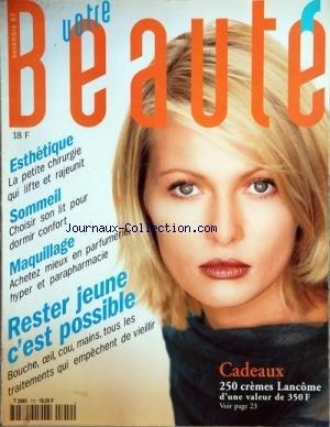 VOTRE BEAUTE [No 712] du 01/11/1997 - ES...