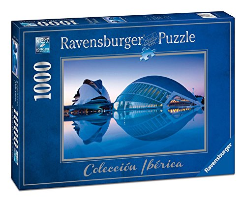 Ravensburger - Valencia, City of Art and Science, Puzzles by 1000 Pieces, 70 x 50 cm (196173)