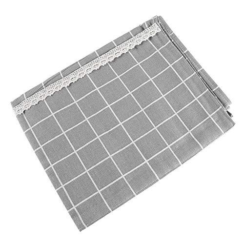 Kühlschrank Staubschutzhülle, Waschmaschinendeckel mit Aufbewahrungsbeutel(Grau 70 * 170 cm) (Gefrierschrank Tuch)