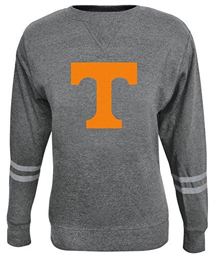 NCAA Damen Crew Sweatshirt, Damen, ROSAURA, grau, Small (Fleece Sweatshirt Scoop Neck)