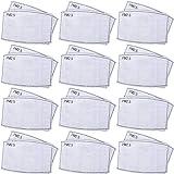 60 Piezas de Filtro de Máscara de Carbón Activado Anti PM2.5 N95 Insertos de Máscara Filtro Protecto (10.5 x 7 cm/ 4.1 x 2.7 Inches)
