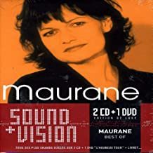 Maurane - Deluxe Sound & Vision (Coffret 2 CD et 1 DVD)