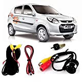 #6: Fabtec LED Night Vision Waterproof Car Rear View Reverse Parking Camera With Microfiber Dusting Glove For Maruti Alto 800