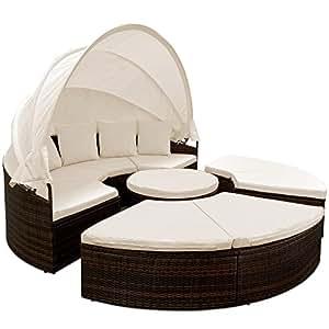 canap lit de jardin 230 cm chaises longue terrasse balcon jardin sofa jardin. Black Bedroom Furniture Sets. Home Design Ideas