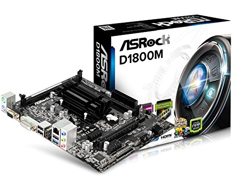 ASRock D1800M - MicroATX Placa Base