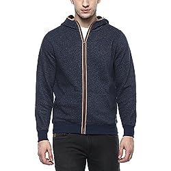 Numero Uno Mens Cotton Sweatshirt (NMSSFZ234_Navy_Medium)
