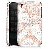DeinDesign Apple iPhone 3Gs Coque Étui Housse Girly Worldmap