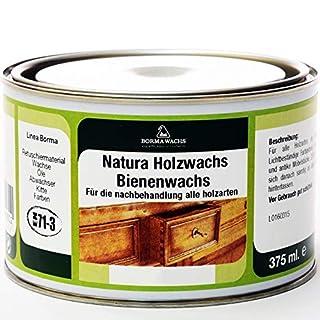 Natura Holzwachs Bienenwachs Möbelwachs Antikmöbel Wachs EN71-3 (Transparent - 08)