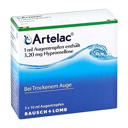 Artelac Augentropfen 3X10 ml
