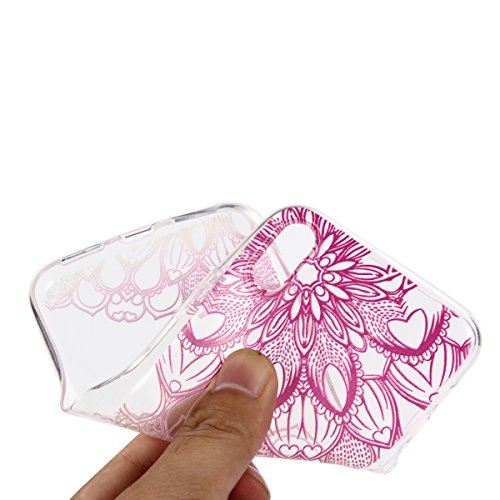 iPhone X Handyhülle,iPhone X Silikon Hülle,Cozy Hut 3D Handyhülle Muster Case Cover Für iPhone X Liquid Crystal Ultra Dünn Crystal Clear Transparent Handyhülle Soft Cover Premium Anti-Scratch TPU Durc Sonnenblume