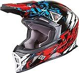SHOT STRIKER BLAST Helm rot/blau/sw. XS