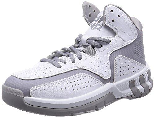 adidas D Howard 6-Chaussures pour Homme - Multicolore - Blanc/Gris/Noir, 48 EU