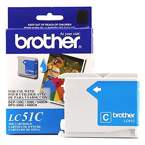 Brother-130Cyan Original Tintenpatrone Standard Ergiebigkeit (400Ergiebigkeit) -